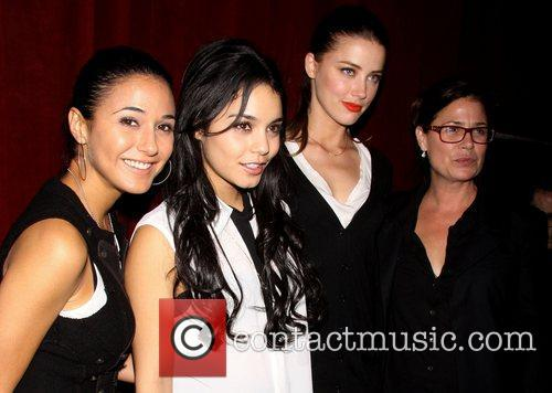 Emmanuelle Chriqui, Vanessa Hudgens, Amber Heard and Maura Tierney 1
