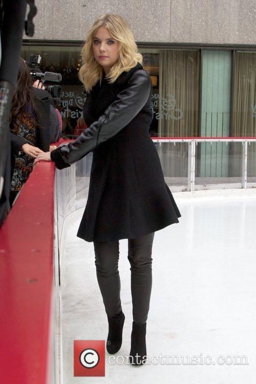 Ashley Benson and Rockefeller Center 3