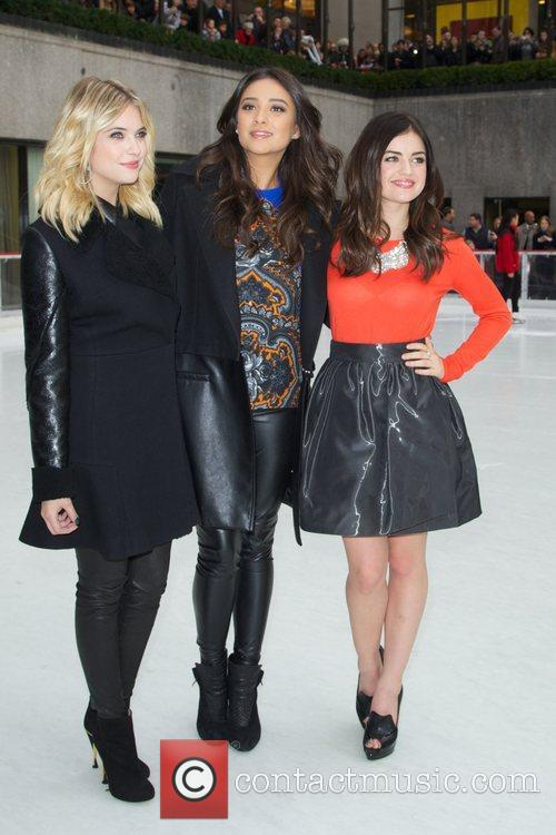 Ashley Benson, Shay Mitchell, Lucy Hale and Rockefeller Center 2