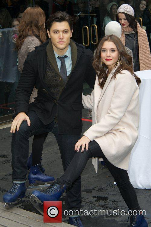 Blair Redford, Alexandra Chandon and Rockefeller Center 2