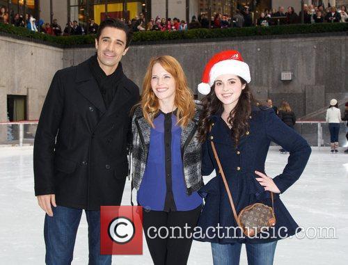 Gilles Marini, Katie Leclerc, Vanessa Marano and Rockefeller Center 3