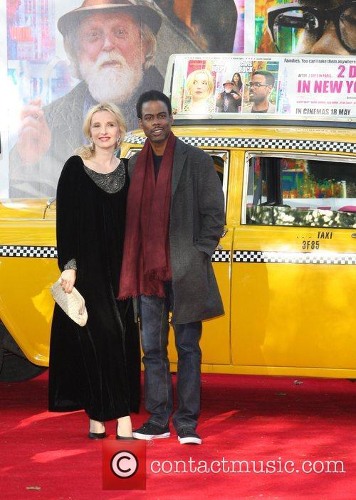 Julie Delpy and Chris Rock UK premiere of...
