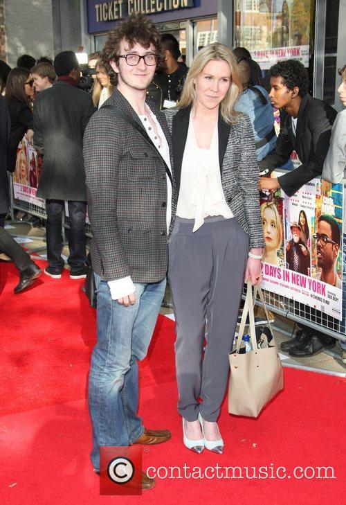 Tom Scurr and girlfriend UK premiere of 2...