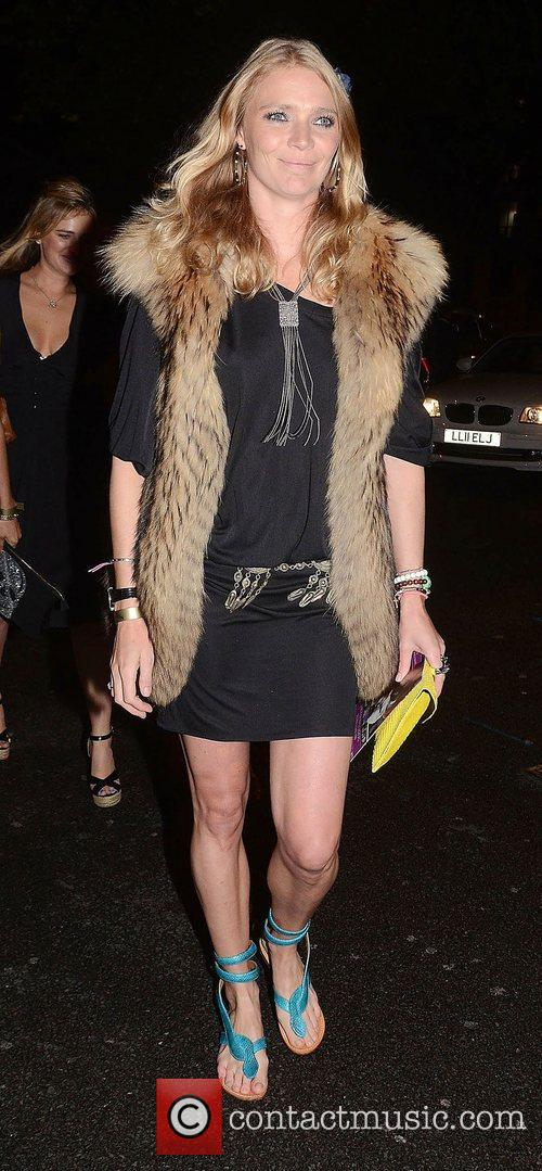 Jodie Kidd at the 2&8 at Morton's launch...