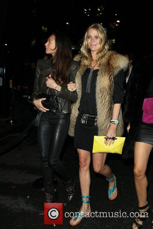 Lilly Becker and Jodie Kidd at the 2&8...