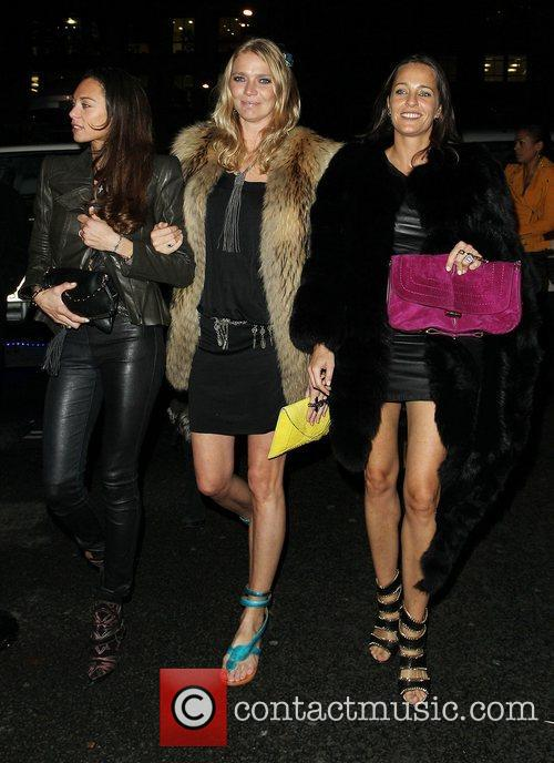 Lilly Becker (left) and  Jodie Kidd at...