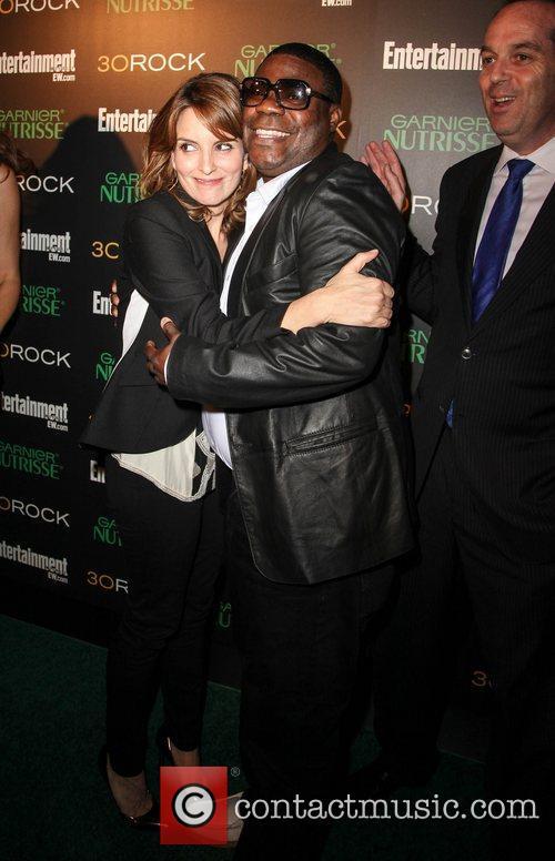 Tina Fey and Tracy Morgan
