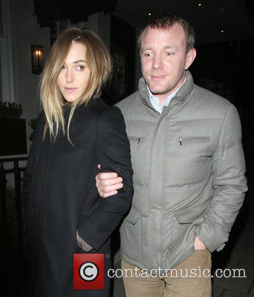 Guy Ritchie and girlfriend Jacqui Ainsley leaving 34...