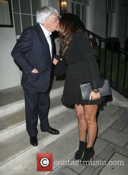 Bernie Ecclestone, Tamara Ecclestone, Restaurant and Mayfair 1