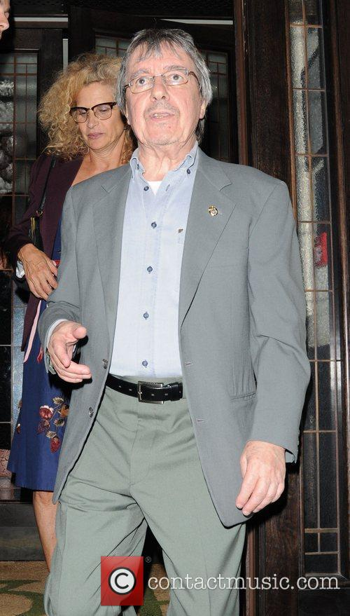 bill wyman leaving 34 restaurant in mayfair 3963914
