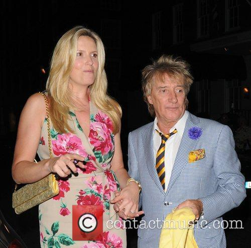 Rod Stewart and Penny Lancaster 2