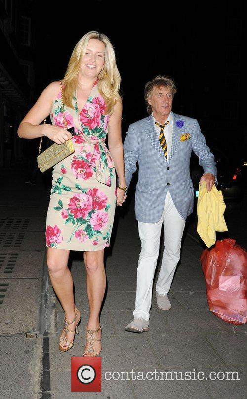 Rod Stewart and Penny Lancaster 11