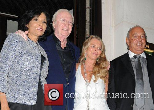 Michael Caine and Shakira Caine 2