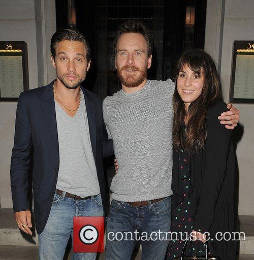Logan Marshall-green, Michael Fassbender and Noomi Rapace 1