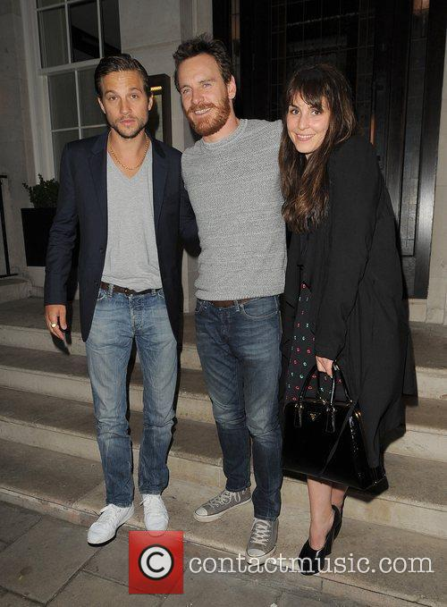 Logan Marshall-green, Michael Fassbender and Noomi Rapace 5