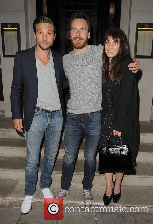 Logan Marshall-green, Michael Fassbender and Noomi Rapace 6