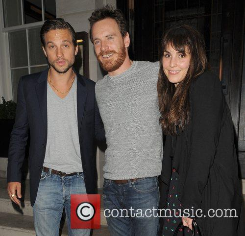 Logan Marshall-green, Michael Fassbender and Noomi Rapace 8