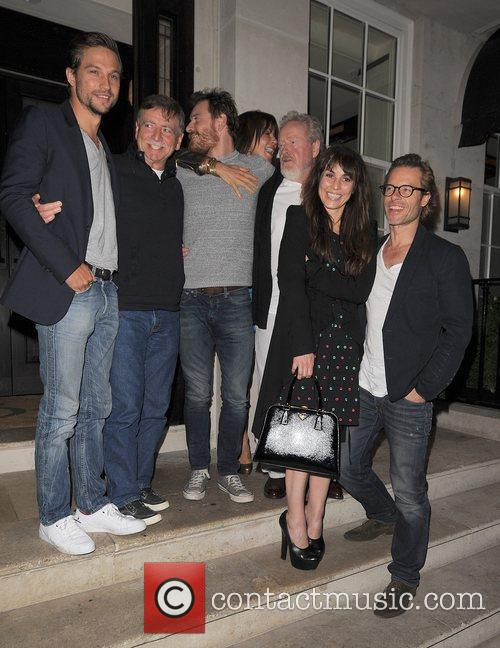 Logan Marshall-green, Guy Pearce, Michael Fassbender and Noomi Rapace 3