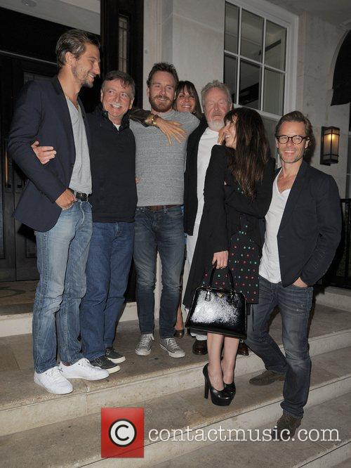 Logan Marshall-green, Guy Pearce, Michael Fassbender and Noomi Rapace 4