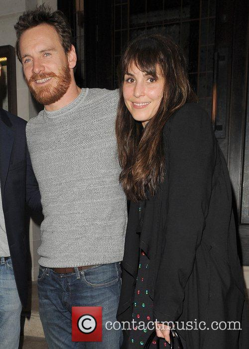 Michael Fassbender and Noomi Rapace 8