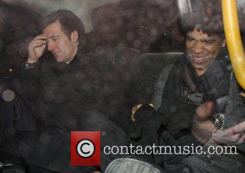Clive Owen and Cuban dance choreographer Carlos Acosta...
