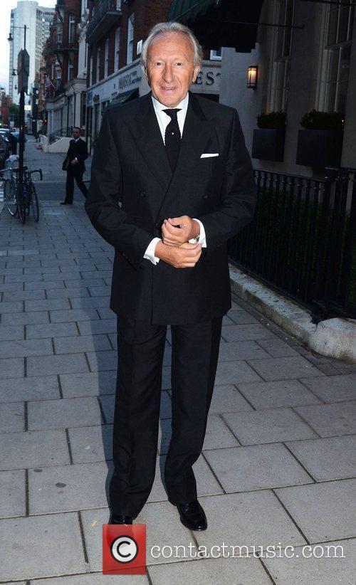 Celebrities arrive at 34 Restaurant in Mayfair
