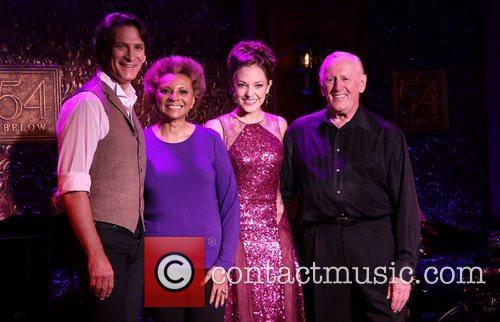 Bob Stillman, Leslie Uggams, Laura Osnes, Len Cariou Press, Below and New York City 1