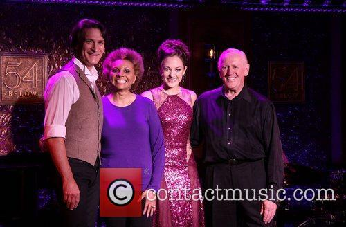 Bob Stillman, Leslie Uggams, Laura Osnes, Len Cariou Press, Below and New York City 2