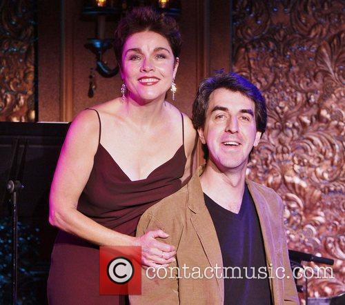Christine Andreas and Jason Robert Brown  in...