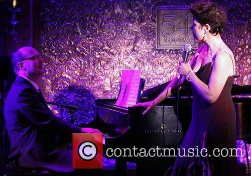 Don Rebic and Christine Andreas in rehearsals for...