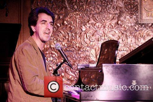Jason Robert Brown in rehearsals for his concert...