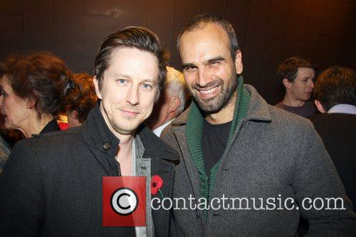 Lee Ingleby and Gerald Kyd attends the 55...