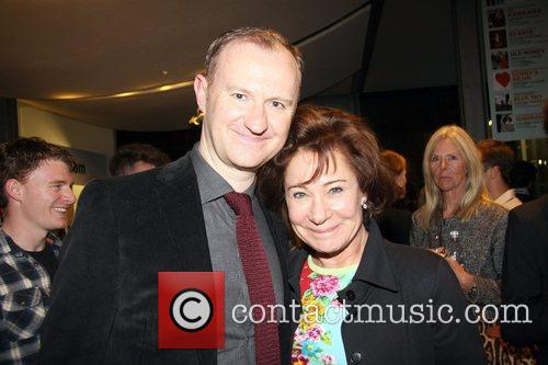 mark gatiss and zoe wanamaker attends the 4144660