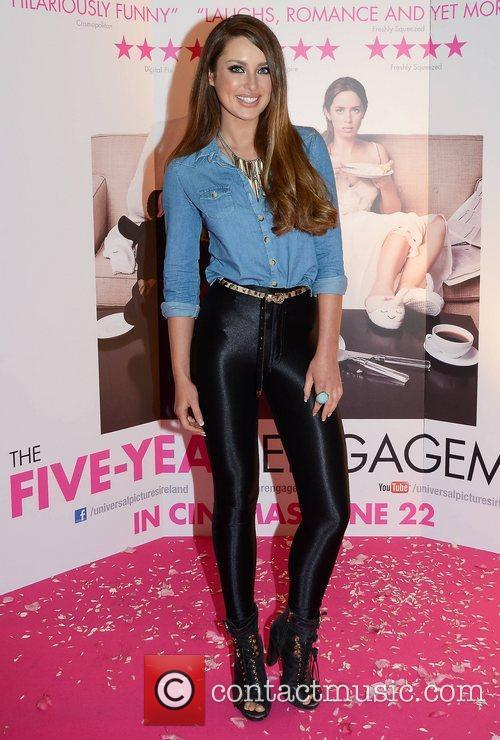 Rozanna Purcell  Premiere of 'The Five Year...