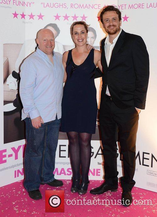 Stephen Lawlor, Erin Evans and Jason Segel...