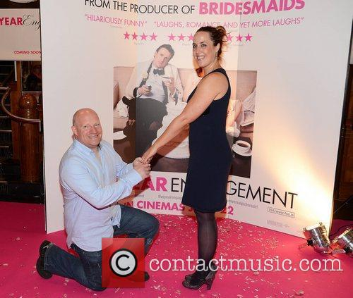 Premiere of 'The Five Year Engagement' held at...
