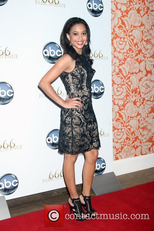 Samantha Logan '666 Park Avenue' series premiere party...