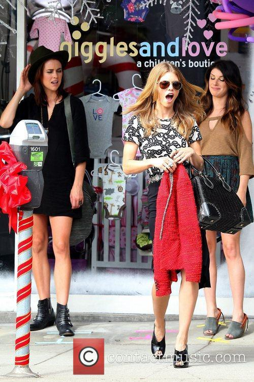 Shenae Grimes, AnnaLynne McCord and Jessica Stroup on...