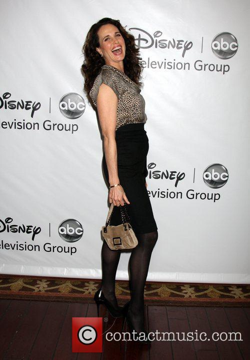 Andie McDowell  Disney ABC Television Group Hosts...