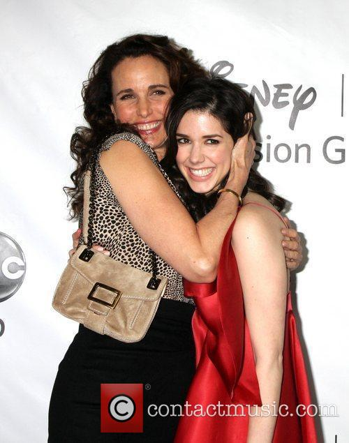 Andie McDowell, Erica Dasher  Disney ABC Television...