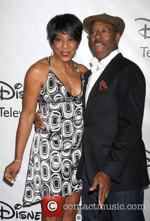 Dawnn Lewis and Courtney B Vance