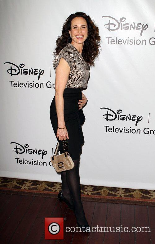 Andie MacDowell Disney ABC Television Group Hosts TCA...