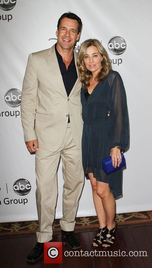 David James Elliott and Vanessa Marano