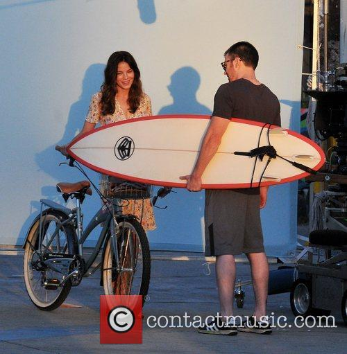 Michelle Monaghan and Chris Evans 8