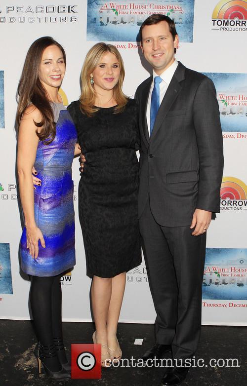 Henry Chase Hager; Barbara Bush; Jenna Bush Hager...