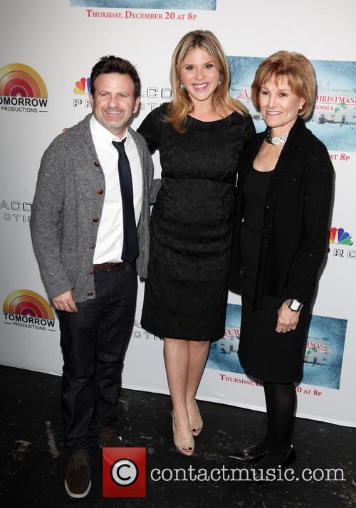 Mark Victor, Jenna Bush Hager and Jean Wages