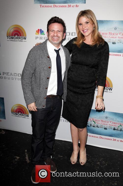 Mark Victor and Jenna Bush Hager 1
