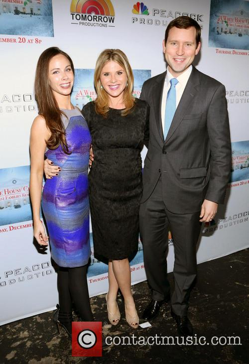 Barbara Bush, Jenna Bush Hager and Henry Chase Hager 7