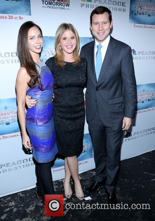 Barbara Bush, Jenna Bush Hager and Henry Chase Hager 4