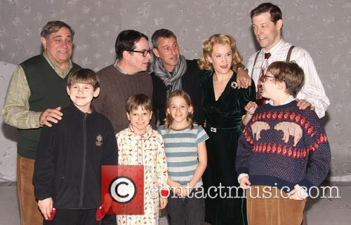 Dan Lauria, Matthew Broderick, Adam Shankman, Erin Dilly and Kelli 2